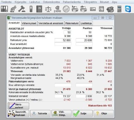 maatalouden kirjanpito ohjelma